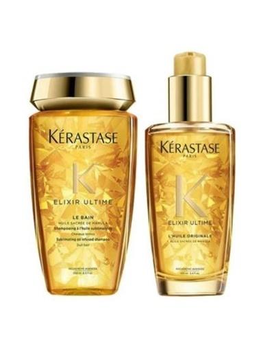Kerastase Kerastase Mat Saçlar için Parlaklık Şampuan 250 ml + Parlaklık Yağı 100 ml Renksiz